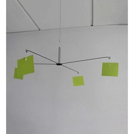 Metal Mobile 4 Sided Ceiling Sign Hanger HAN32_Mobile Hangers_Hang and Display